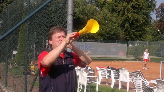 Tennisfreundschaft zwischen dem TC SW Bad Salzungen und dem TC RW Fröndenberg